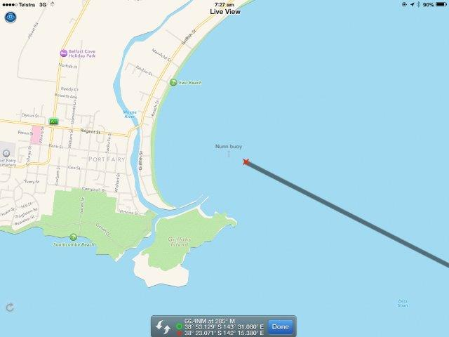 BoatBeacon AtoN PortFairy Map