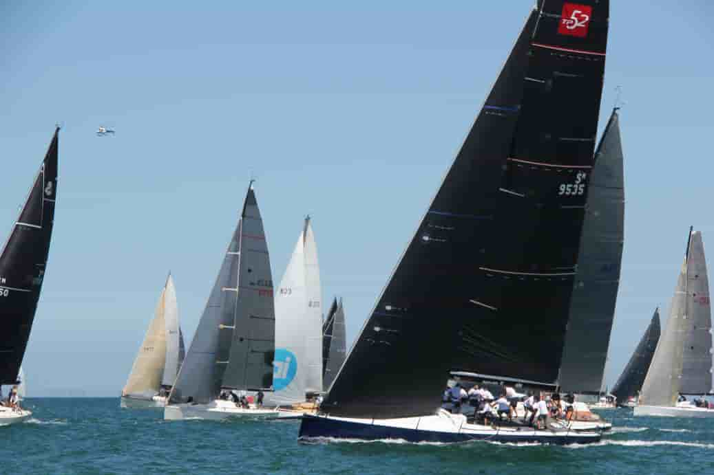 2018 Cock of the Bay Race is underway